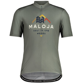 Maloja SchwarzerleM. 1/2 Short Sleeve Bike Jersey Men, salvia